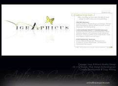 Web design, UX UI, Photography, Digital Image manipulation, iGraphicus.com, Anita B. Carroll, Race-Point.com