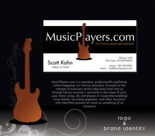 print, business cards, Web design, UX UI, Photography, Digital Image manipulation, Musicplayers.com, Anita B. Carroll, Race-Point.com