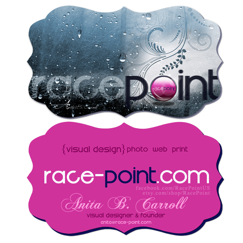New Business Card Design for Race-Point