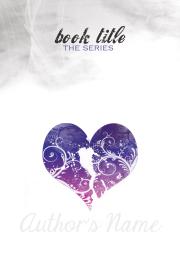B R O K E N series - Lilac - Anita B. Carroll Design