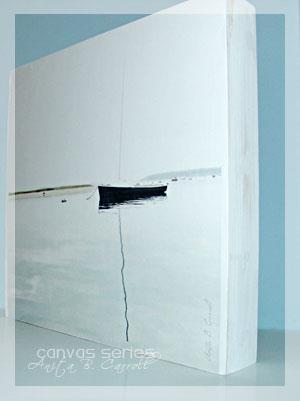 Artistic Canvas View - Solitude by Anita B. Carroll