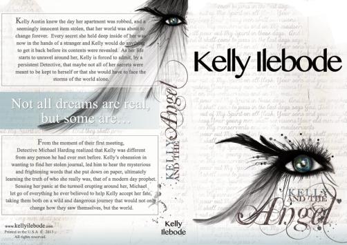 Custom Book Cover design for Kelly Ilebode