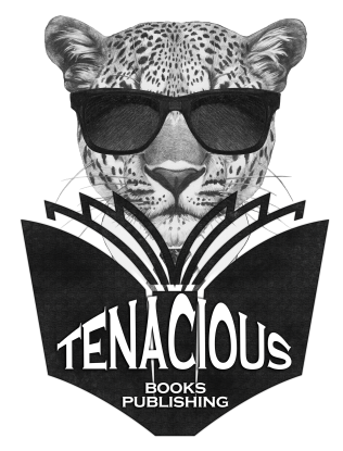 Logo: Tenacious Books Publishing by Anita@race-point.com