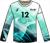 19 Meraki on sleeve, can switch with jersey number/other text