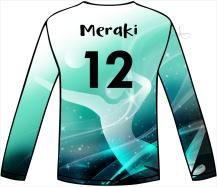 2019 MERAKI VOLLEYBALL GAME JERSEY DESIGN by Anita B. Carroll