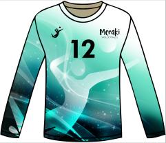 2019 Meraki Volleyball Game Jersey