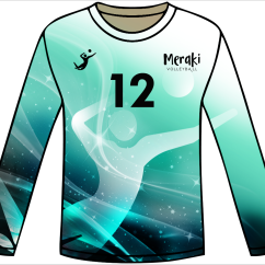 2019 Meraki Volleyball Game Jersey