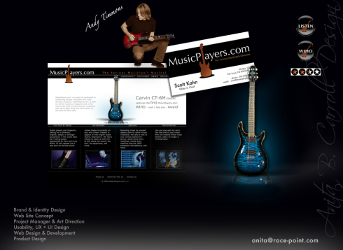 2005 - 2006 Custom Web Site Design